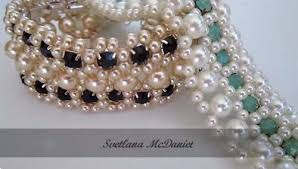 pearl bracelet tutorials images Crystal cup chain and beadwork jewelry tutorials the beading JPG