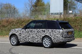 land rover interior 2018 range rover facelift spied with updated interior autoevolution