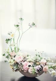 modern japanese inspired styled shoot cherry blossom centerpiece