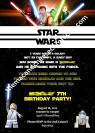 Lego Invitation Cards Star Wars Birthday Party Invitations U2013 Gangcraft Net