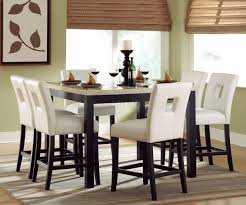 Counter Height Dining Table WFaux Marble Top  Options - Counter height dining table in black