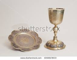 ceremonial chalice communion golden cup liturgical ceremonial stock photo 1016356054
