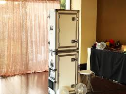 hollywood photo booth layout photobooth with open air concept la wedding photo booth rentals