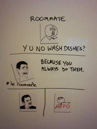 Roommate Memes - 20 more hilarious roommate notes smosh
