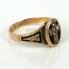 mourning ring buy antique mourning ring made in 1900 sold items sold rings