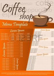 free drink menu template 40 great restaurant food menu print