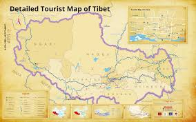 Thailand On World Map by Where Is Tibet Located On Map Of China Asia And World