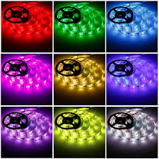 led light strip waterproof geekeep 2m rgb led strip lights with remote control usb powered