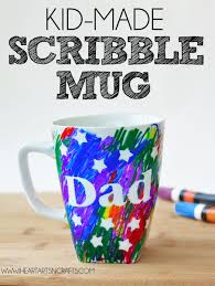 easy father u0027s day sharpie mug kids craft
