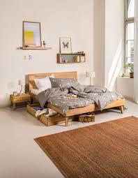 Schlafzimmer Queen Micasa Schlafzimmer Mit Bett Und Schublade Aus Dem Programm Cara
