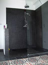 Mosaique Bleu Salle De Bain by Inspiration Une à L U0027italienne Black Shower Bath And