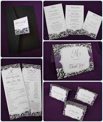 and black wedding invitations weddings dms printing design