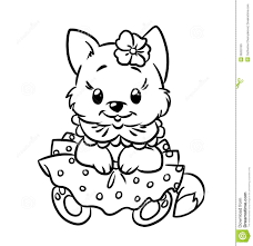 free coloring pages kittens and puppies