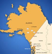 us map of alaska alaska border map tbwg