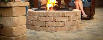 How To Make A Brick Patio by To Build A Fire Pit