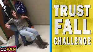 Challenge Fail Vine Trust Fall Challenge Compilation 2016 Trust Fall Fail
