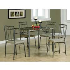 marble and metal dining table give your dining area a contemporary upgrade with this stunning faux
