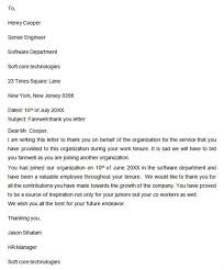 goodbye thank you letter to 28 images resignation letter to