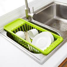Kitchen Sink Dish Rack Kitchen Sink Drain Rack Cutlery Shelving Treatment Of Fruits And