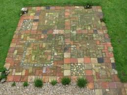 Patio Slabs For Sale Reclaimed Patio I Have So Many Old Pavers Used Street Brick For