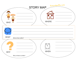 Map Worksheets Best Photos Of Story Elements Map Story Map Worksheet Map Story