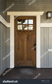 Homeview Design Inc by Dark Wood Front Door Home View Stock Photo 115014289 Shutterstock