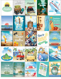 summer holiday planner template free printable 25 vacation stickers for your happy planner or erin