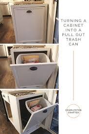Under Cabinet Pull Out Trash Can Trash Talk Do Or Diy Sliding Can Under Cabinet Dsc Ooferto