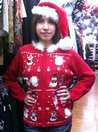 buy your womens tacky gaudy sweaters in dallas