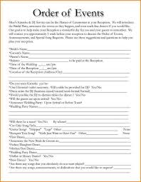 Wedding Itinerary Template For Guests 7 Wedding Day Itinerary Template Wedding Spreadsheet