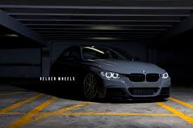 bmw slammed slammed f30 on vmb7 wrapped madwhips