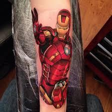 40 mightiest marvel comic tattoo designs