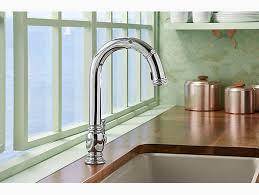 kohler faucets kitchen sink k 99332 beckon electronic pull kitchen faucet kohler