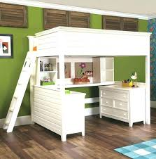 Bunk Bed With Workstation White Bunk Bed With Desk Ianwalksamerica