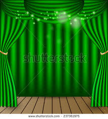 green curtains vector background stock vector 237361975 shutterstock