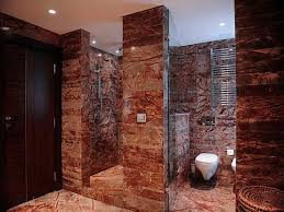walk in shower with glass block walls and no door new walk in