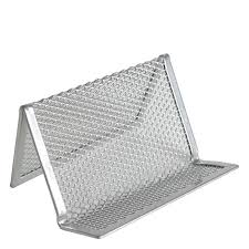 Creative Business Card Holders For Desk Mesh Business Card Holder Franklincovey