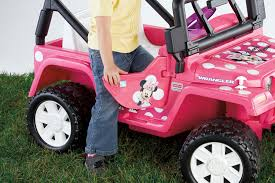 jeep pink power wheels disney minnie mouse jeep 12 volt battery powered ride