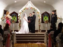 indoor wedding arch royal view wedding chapel reception venue omaha