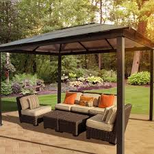 Lowes Patio Gazebo Patio Gazebo Who Has The Best Patio Gazebo In The Uk 12x12 Patio