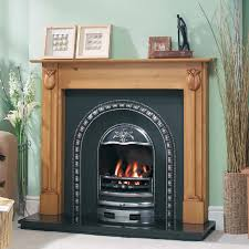 classic design cast tec tulip arch fireplace insert incredible