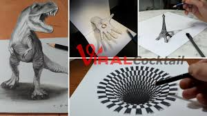 these jaw dropping anamorphic sketches will simply leave you in an
