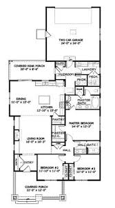 floor plans for craftsman style homes narrow lot roomy feel hwbdo75757 tidewater house plan from