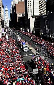 Giants Parade Route Map by Phillies Celebrate World Series With Parade On Broad Street Ny