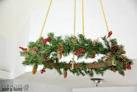 my favorite project from last year a christmas hanging wreath