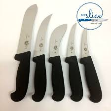 victorinox butcher 5 piece knife set my slice of life