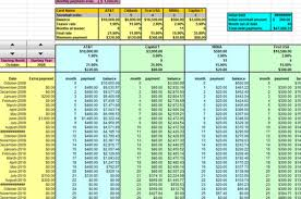 Debt Payoff Spreadsheet Excel Excel Spreadsheet For Credit Card Payoff Calculator
