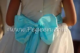 Tiffany Blue Flowers Aqua Theme Weddings U0026 Flower Dresses Pg 2 Flower Dresses