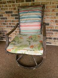 Reupholster Patio Furniture Cushions No Sew Burlap Sack Cushion Covers Hometalk