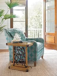 teal accent table twin palms angler accent table lexington home brands